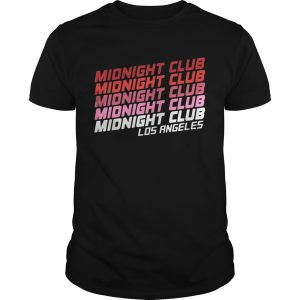 Midnight club Los Angeles shirt