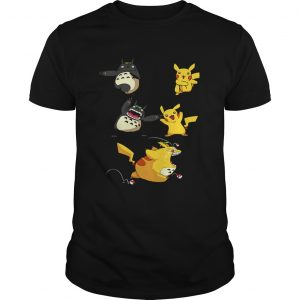 Pikachu fusion Totoro became Totochu or Pikaro shirt