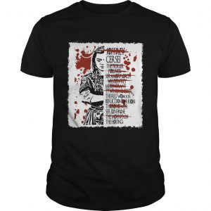 Arya Stark kills list shirt