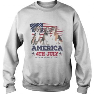 Cool Beagle America 4th July Independence Day sweatshirt