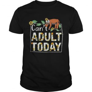 Gibbon Can't adult today shirt
