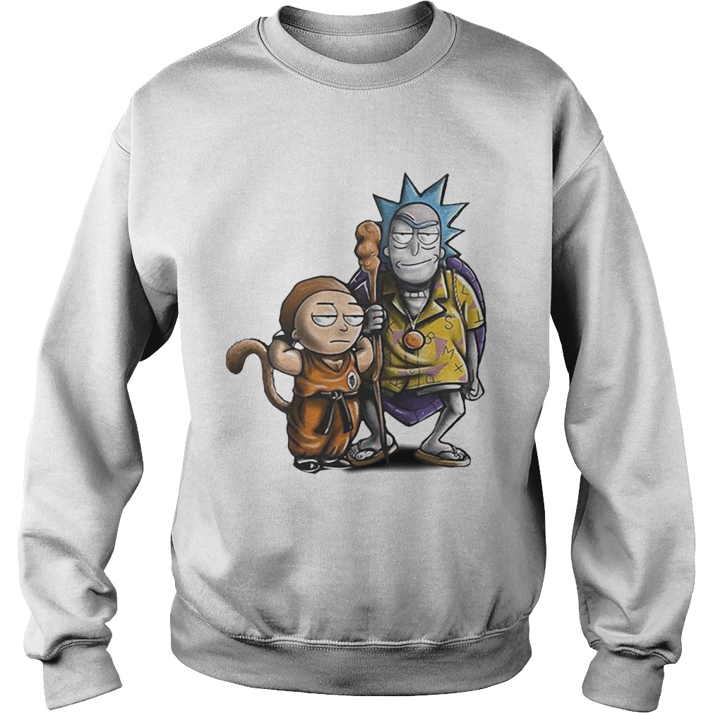 2478950e Rick and Morty Dragon Ball shirt - Trend Tee Store Online