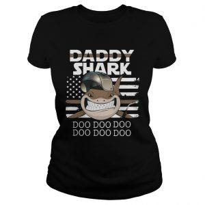 Welder Daddy Shark Doo Doo Doo ladies tee