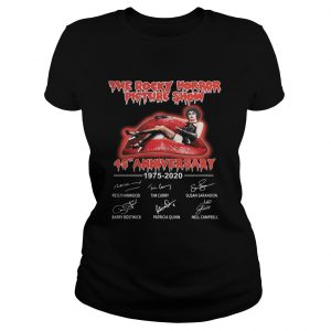 The Rocky Horror Picture Show 45th Anniversary 1975 2020 Shirt Classic Ladies