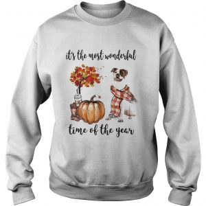 American Pit Bull Terrier its the most wonderful time of the year Sweatshirt