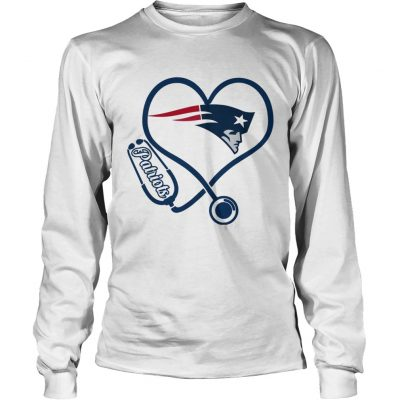 New England Patriots nurse heart Longsleeve