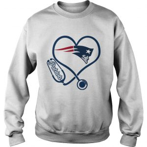 New England Patriots nurse heart Sweatshirt