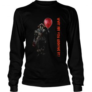 Pennywise IT what are you looking at Longsleeve