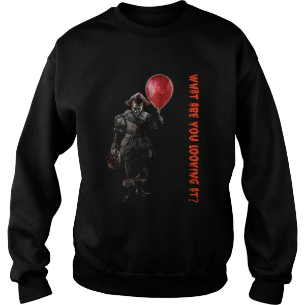 Pennywise IT what are you looking at Sweatshirt