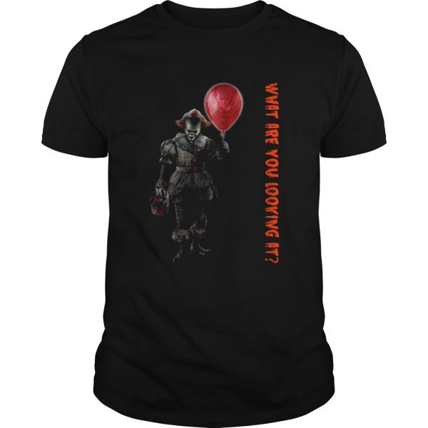 Pennywise IT what are you looking at Unisex