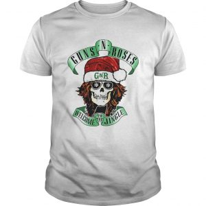 Skull Santa Guns N Roses GNR welcome to the Jingle Unisex
