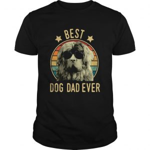 Best Dog Dad Ever Newfoundland Dog Vintage Unisex