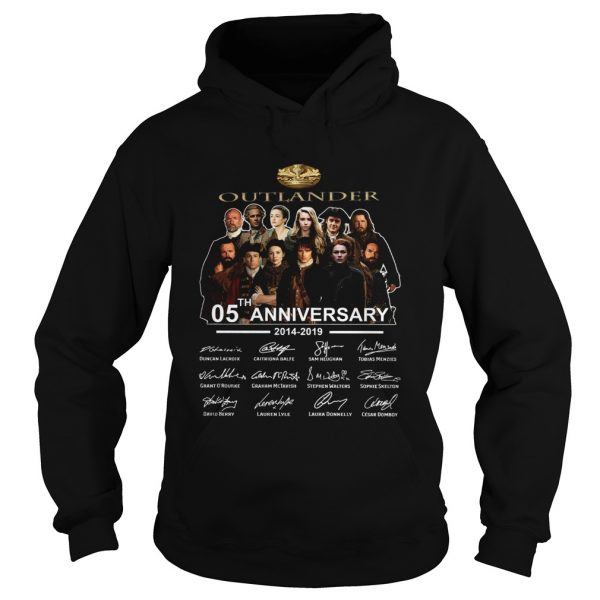 Outlander 05th Anniversary 20142019 Signatures Hoodie