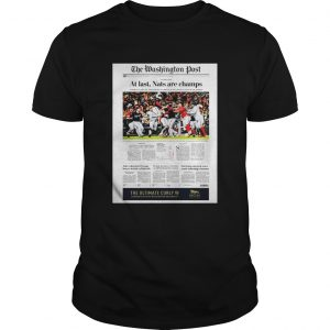The Washington Post At Last Nat Are Champs Unisex