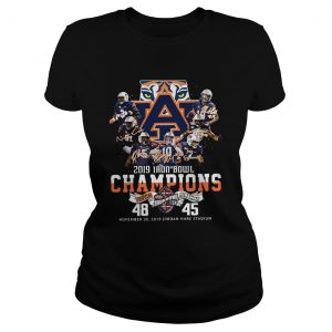 2019 Iron Bowl Champions 2019 Auburn Tigers Alabama Ladies tee