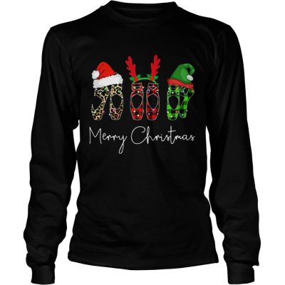Ballet shoes Merry Christmas Longsleeve