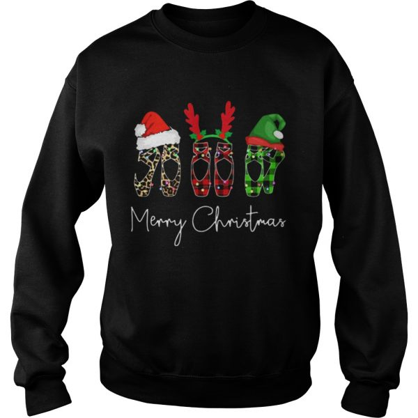 Ballet shoes Merry Christmas Sweatshirt
