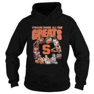 Syracuse Orange football Alltime Greats Players Signatures Hoodie
