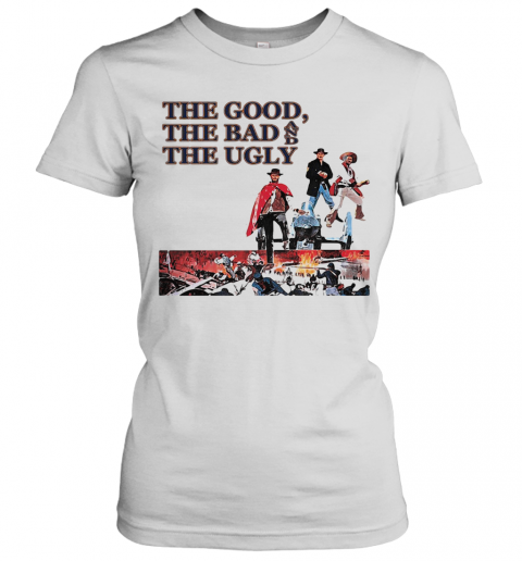Clint Eastwood The Good The Bad And The Ugly T-Shirt Classic Women's T-shirt