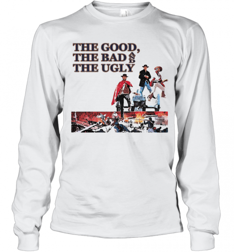 Clint Eastwood The Good The Bad And The Ugly T-Shirt Long Sleeved T-shirt