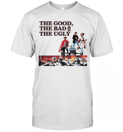 Clint Eastwood The Good The Bad And The Ugly T-Shirt Classic Men's T-shirt