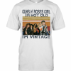 Guns N' Roses Girl I'M Not Old I'M Vintage Retro T-Shirt