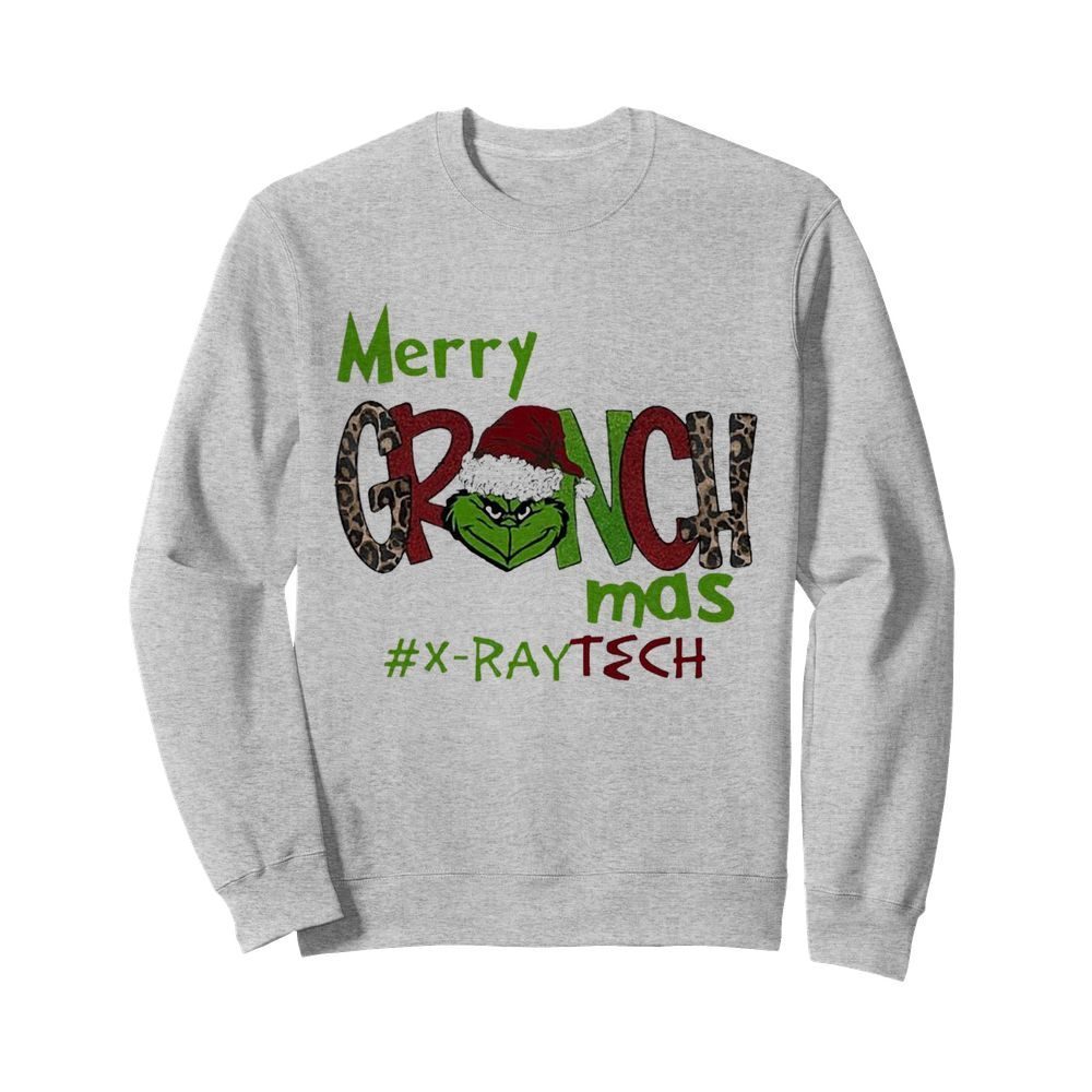 Merry Grinchmas X-Ray Tech Christmas  Unisex Sweatshirt